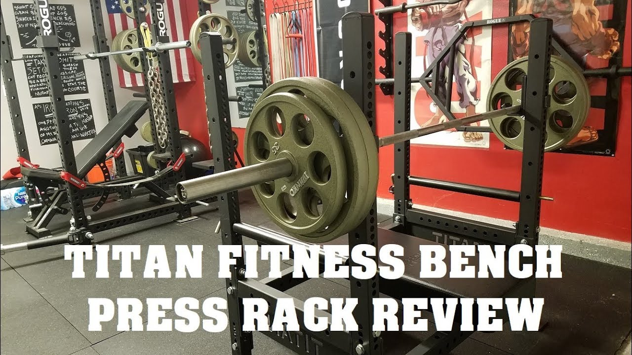 Garage Gym Reviews Titan Titan Fitness Bench Press Rack Review