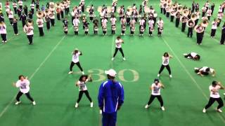 Sonic Boom Practicing for the SWAC Championship