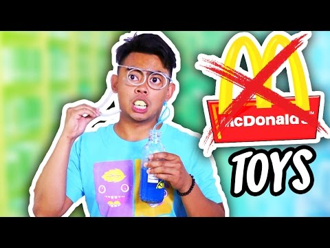 10 REJECTED MCDONALDS TOYS!