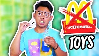 10 REJECTED MCDONALDS TOYS! thumbnail