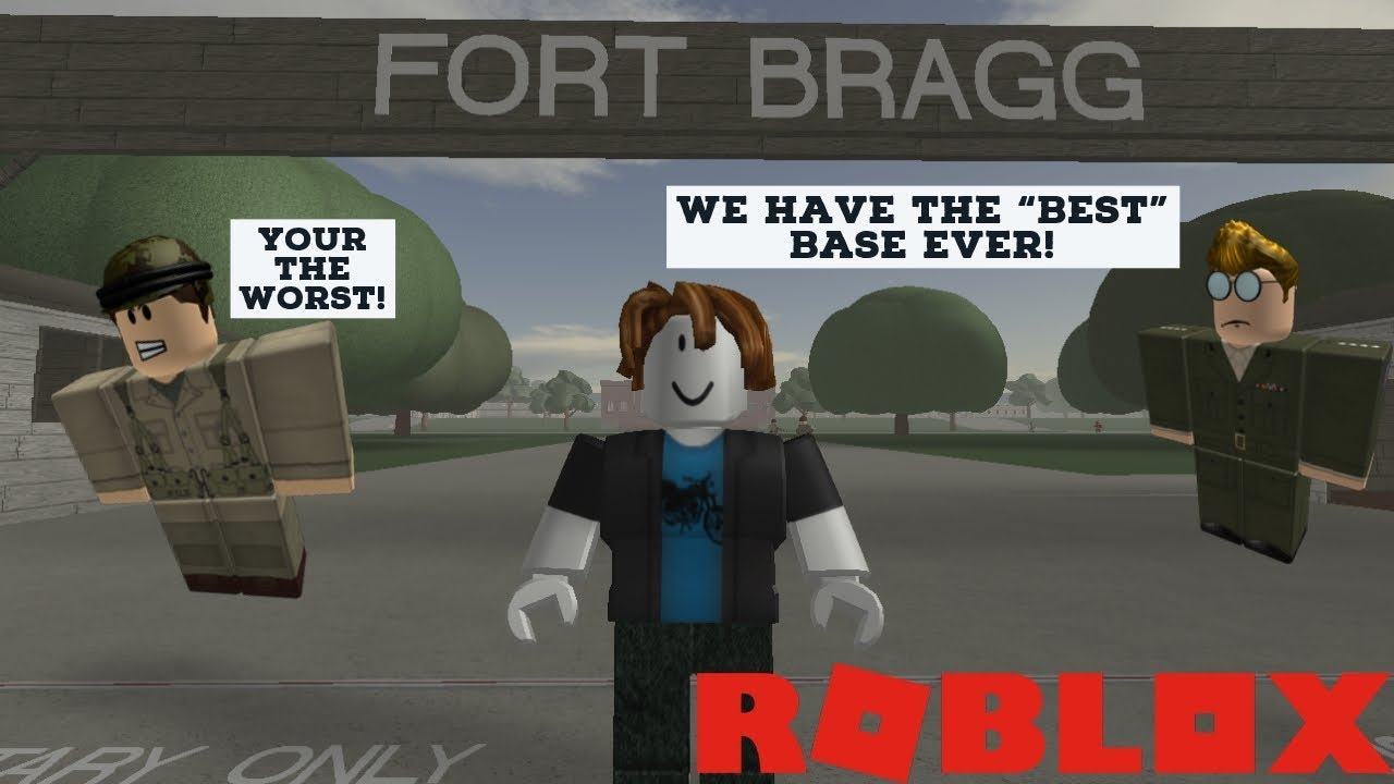 Roblox Fort Roblox Fort Bragg 1940s Completion Of Every Course In The Game By Tubby348