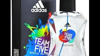 Adidas Team Five Special Edition Men's Cologne (review)