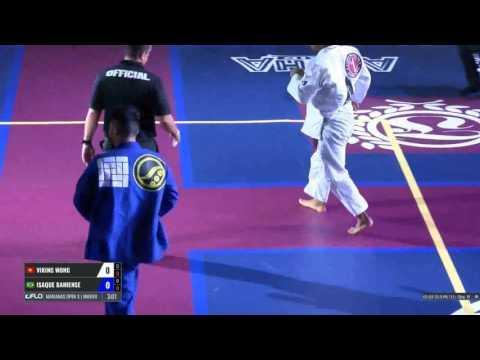 Viking Wong vs Isaque Bahiense at Marianas Open X 30 April 2017