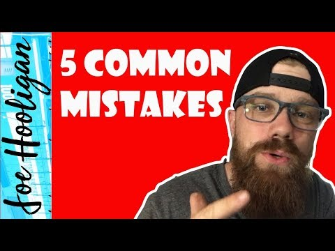 5 Most Common Mistakes New Conductors Make
