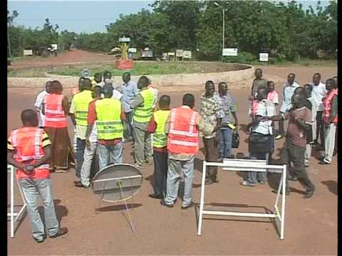 Visite de la Route Koudougou-Dedougou en chantier