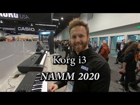 Korg i3 Arranger Workstation Hybrid - NAMM 2020