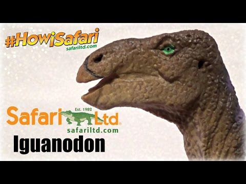 Safari Ltd. || Iguanodon (2016) || #HowiSafari Review