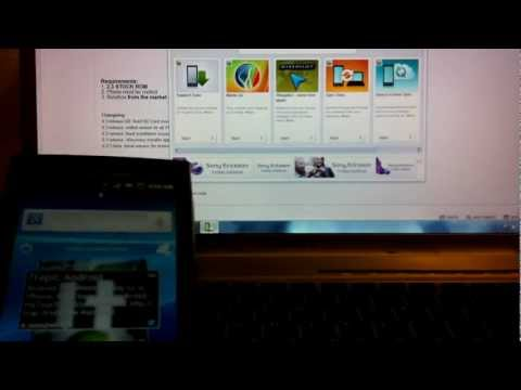 TUTORIAL: How to update your XPERIA X10 to Sony Ericsson Official Gingerbread / Android 2.3.3
