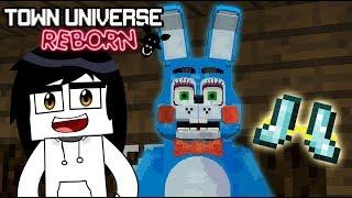 TOWN UNIVERSE REBORN: TOY BONNIE Y LAS IMPRESIONANTES BOTAS NUBE #17 (Minecraft Serie de Mods)