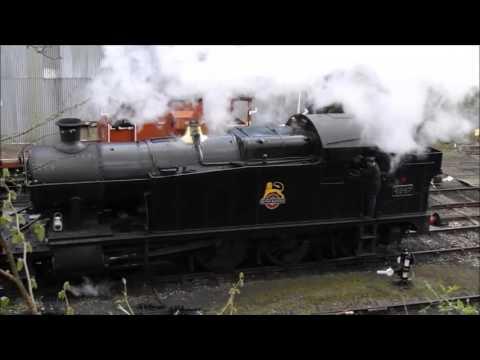 Great Western Railway Tank Locomotive No. 4247 Steam Train Cornish Centenarian