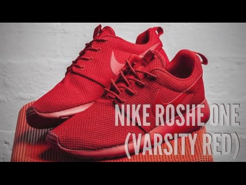 watch 93a53 784e7 NIKE ROSHE ONE (VARSITY RED)  SNEAKERS T