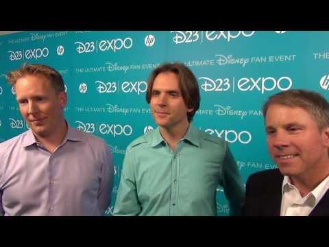 Disney ZOOTOPIA  Director Byron Howard, Producer Clark Spencer, Writer Jared Bush  D23