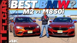 BMW M2 vs M850i: Does  Spending Twice as Much Money Get You DOUBLE the  Car? Hot or Not Review