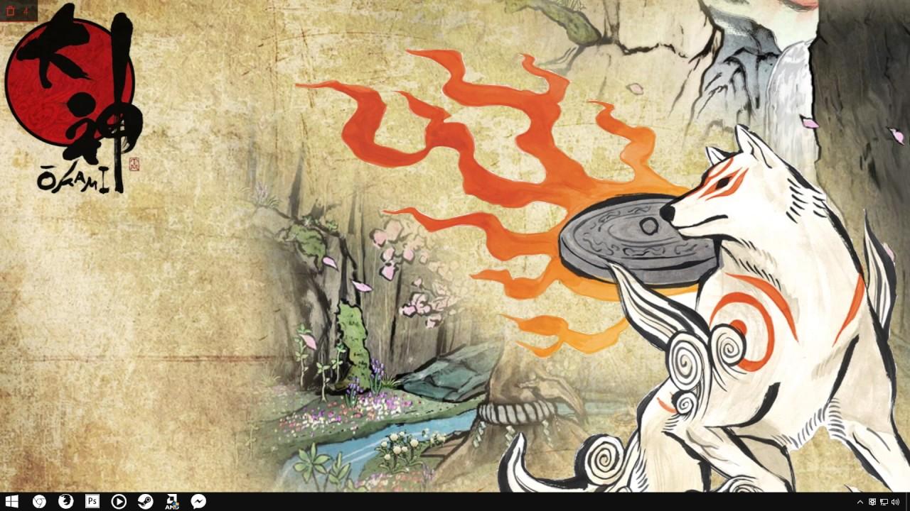 Okami Video Wallpaper BY AKIBA ILLUSION