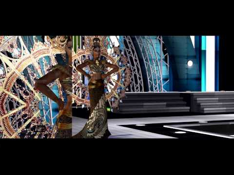Miss Sim Universe 2013 -  National Costume Show Highlights