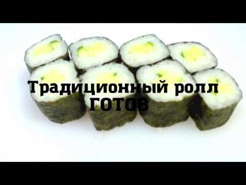 Рецепт как правильно приготовить роллы маки с огурцом или лососем