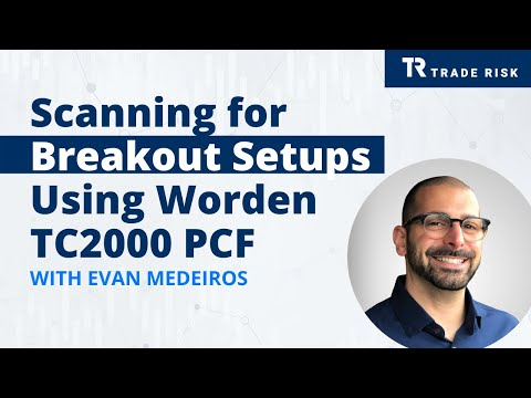 Scanning for Breakout Setups Using Worden TC2000 PCF