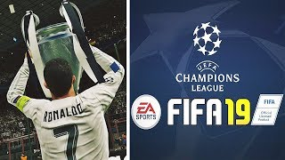 La uefa champions league su fifa19!!! clamoroso!!!😱😱😱