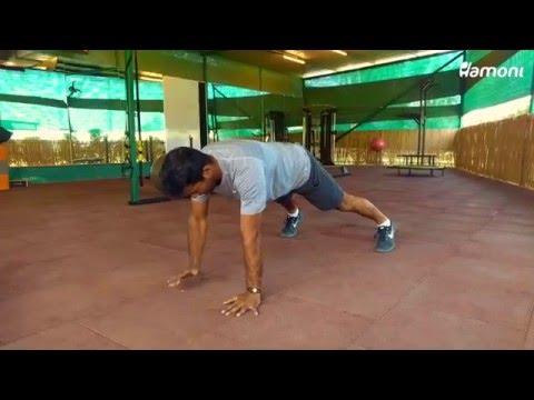 #FitnessFriday- Shoulder Taps