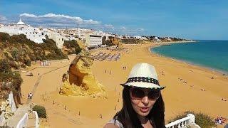 Португалия Алгарве, Пляж Туннельный, Албуфейра