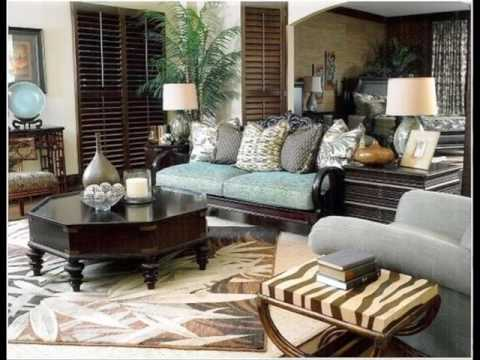 British Colonial Style Living Rooms ideas