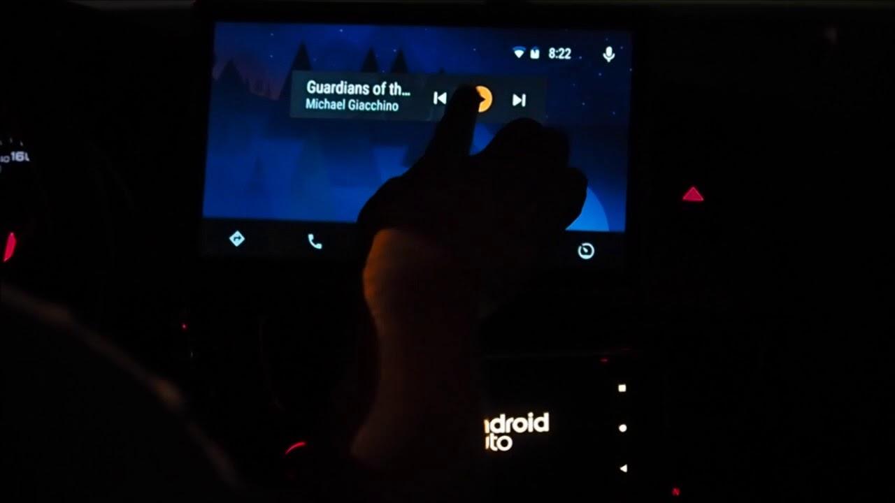RSnav com Audi B8 Platform GPS Android Auto Demo