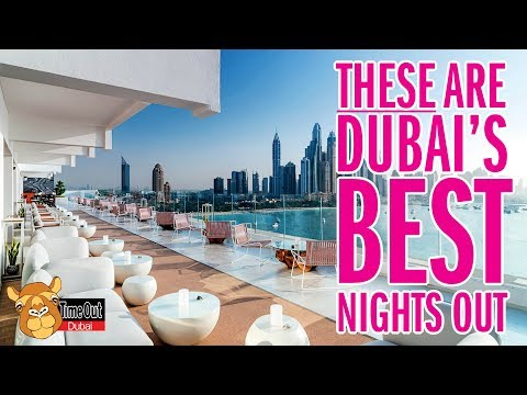 Dubai's BEST nightlife and NEW restaurants to try. Episode 1