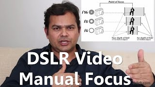 How to Shoot DSLR Video in Manual Focus (Hindi)