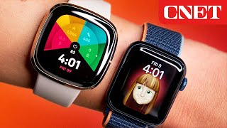 Apple Watch Series 6 vs. Fitbit Sense