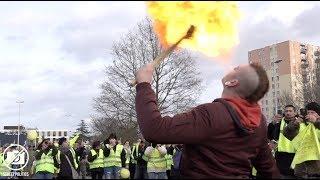 Convergence des gilets jaunes de Picardie à Compiègne - #Acte13 le 9 février 2019