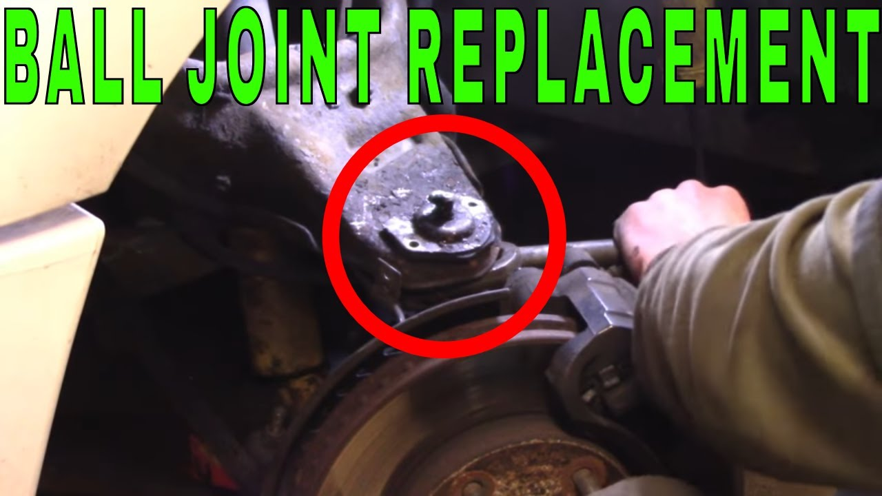 hight resolution of gm s10 blazer riveted ball joint replacement