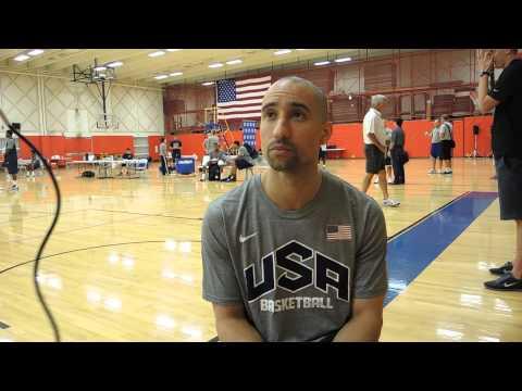 Shaka Smart Interview at USA Basketball U19 World Championship Tryouts