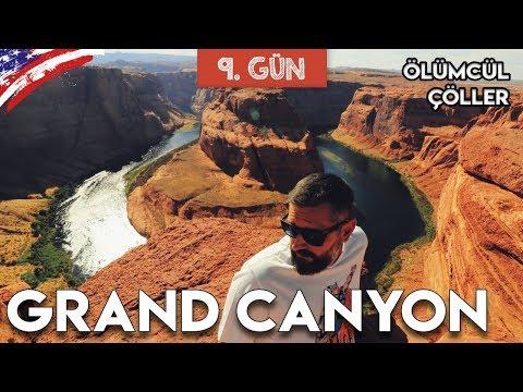Grand Canyon ve Horseshoe Bend gezisi
