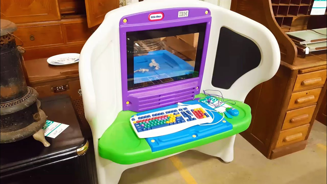 LGR   IBM Little Tikes Young Explorer PC   YouTube Nice Design