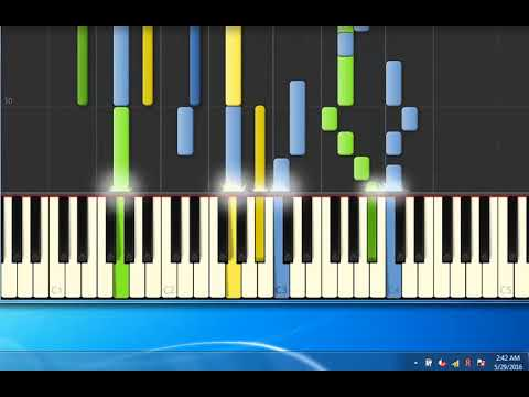 Piano Tutorial Synthesiafemme Fatale Elisa Youtube