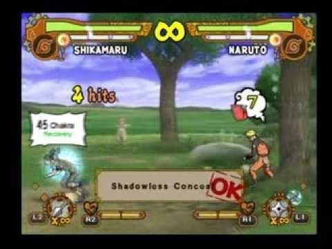 NUN5 PTS Shikamaru moveset - YouTube