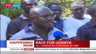 Ugenya by-election: Voters to go to the polls on 5th April