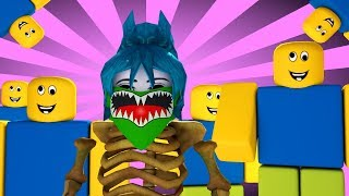 10,000 NOOBS TRY TO SURVIVE!! ROBLOX