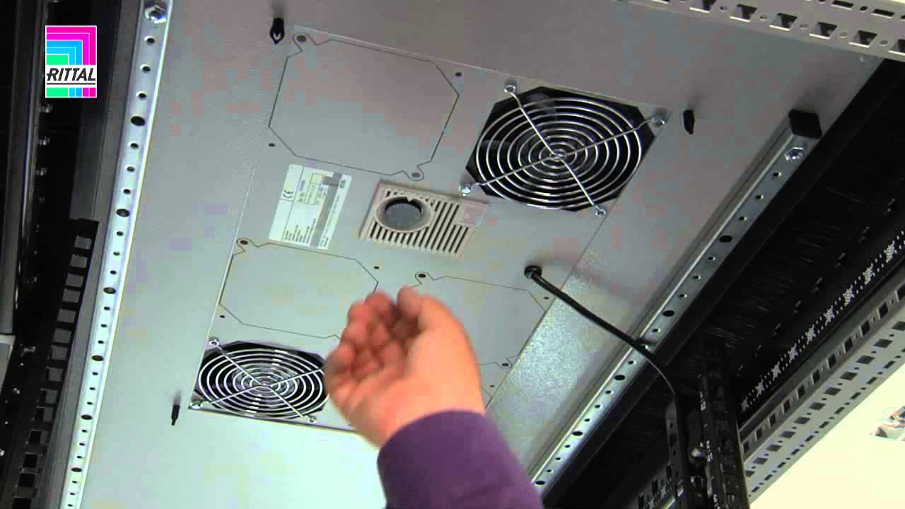 Rittal Ts It Roof Plate Fan Module Youtube