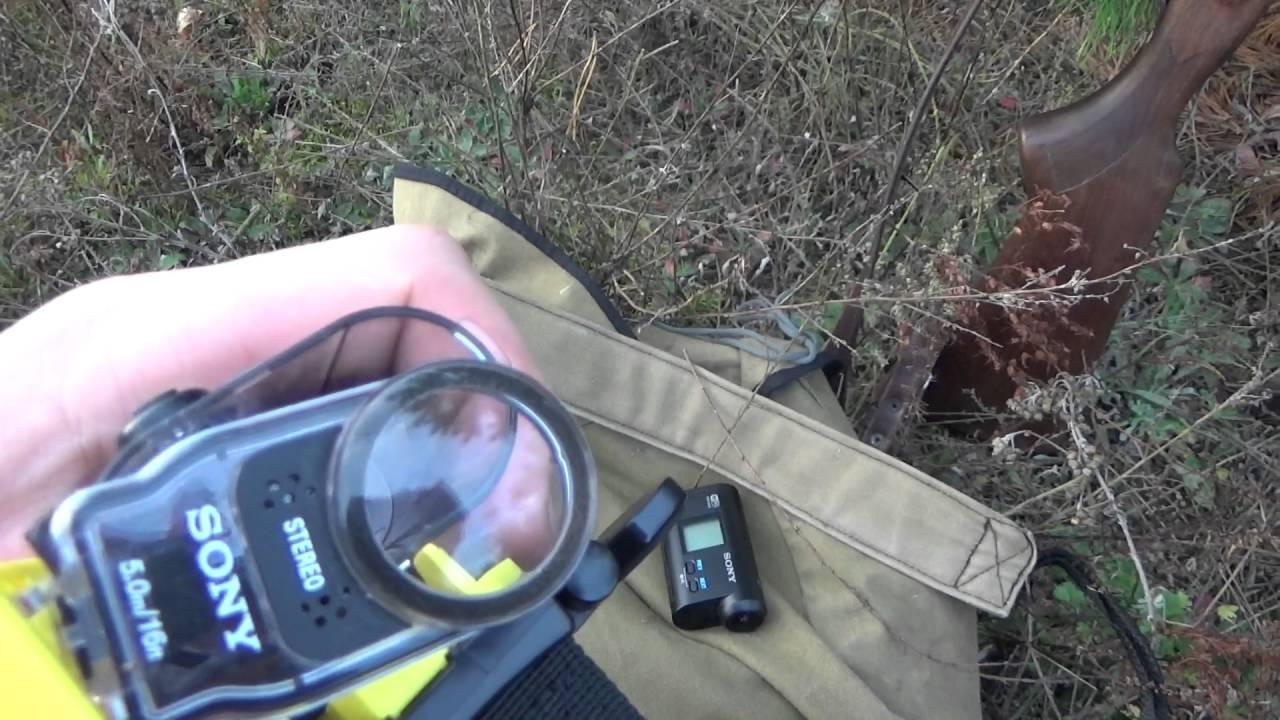 экшн камера сони на ружье симптомы