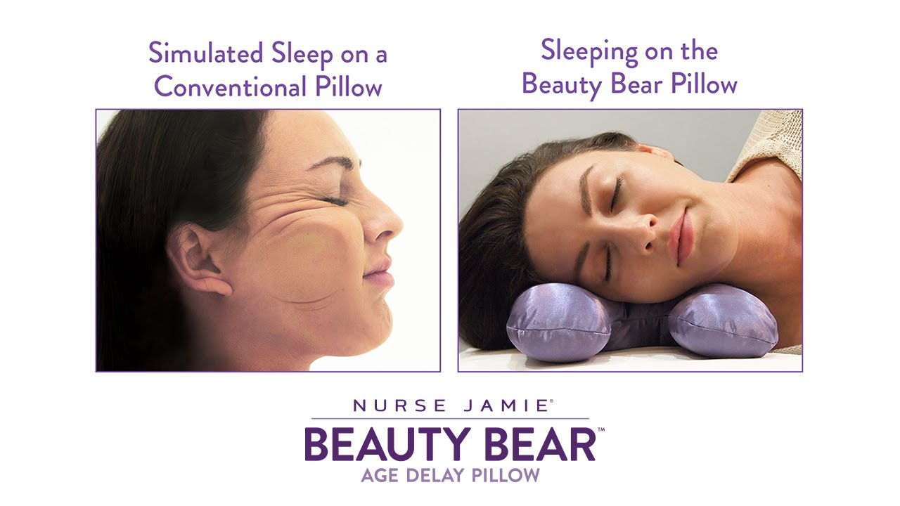 nurse jamie beauty bear age delay pillow