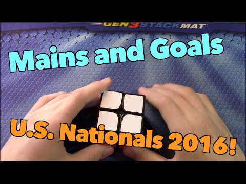 Mains and Goals for US Nationals 2016!