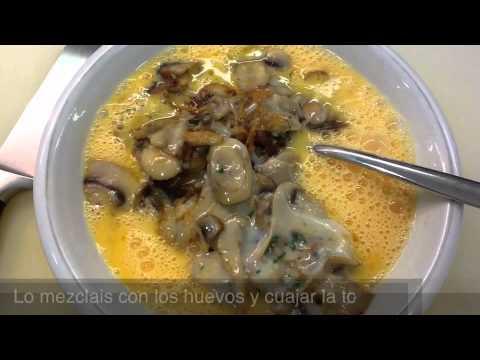 Tortilla de Champiñones y Queso de Oxaca