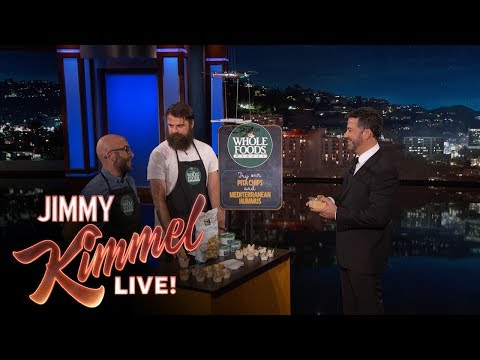 Jimmy Kimmel Demonstrates How Amazon Will Change Whole Foods