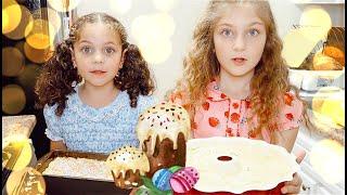 BAKING RUSSIAN EASTER CAKE  - FULL RECIPE! КУЛИЧ