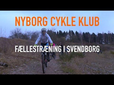 Nyborg Cykle Klub fællestræning i Svendborg (2K)