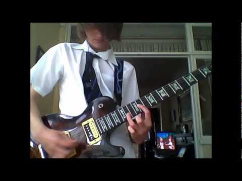 Cradle of Filth - Foetus of a new day kicking Guitar Cover