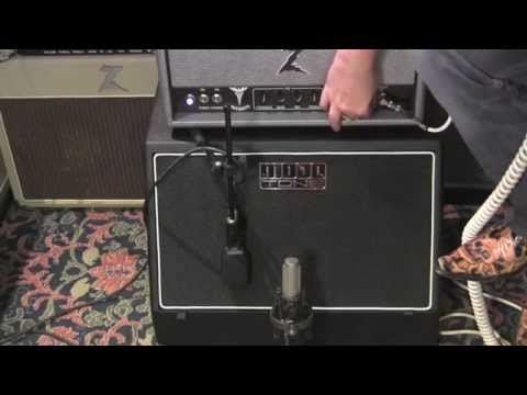 Mojotone Slammins mini 1x12 slant speaker cabinet demo with