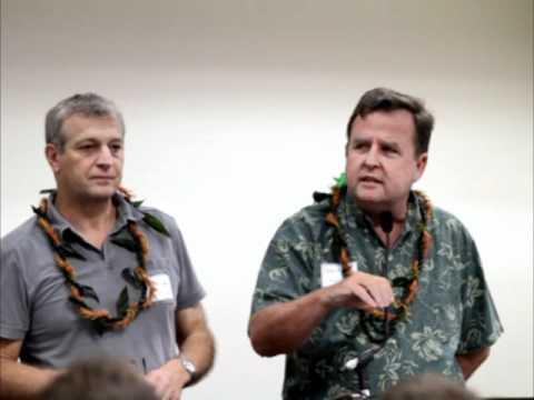 Hawaii Sierra Club Forces For Good Symposium.  Gary Hooser & Anthony Aalto