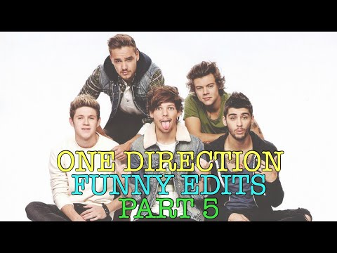 One Direction Funny Edits/Vines (includes...